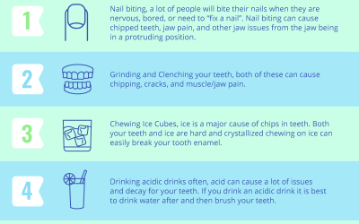 5 of The Worst Habits For Your Teeth